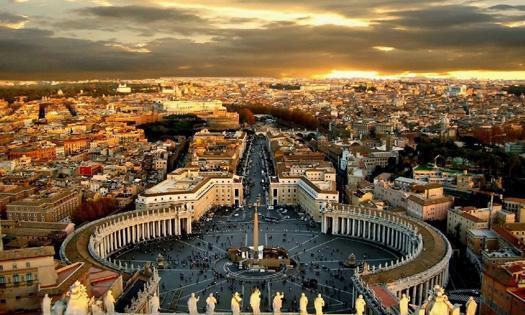 罗马一日游 - 梵蒂冈博物馆