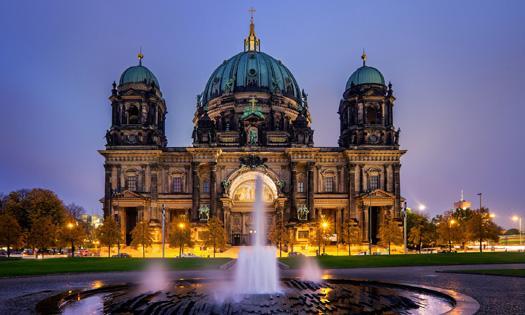 柏林一日游 柏林大教堂