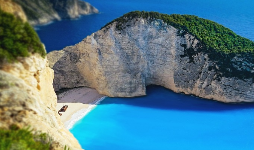 遇见最美希腊(圣托里尼+扎金索斯双岛游)