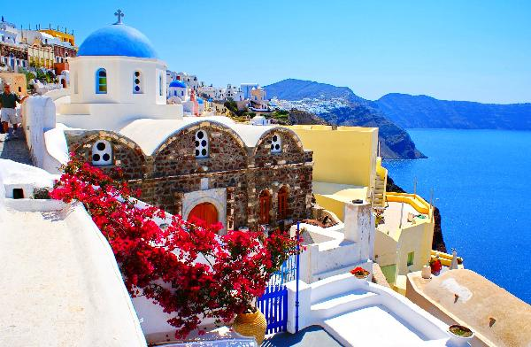 遇见最美希腊(圣托里尼+天空之城)
