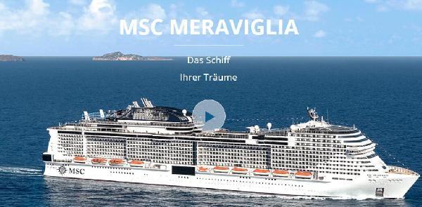 MSC神曲号六天五晚地中海畅游