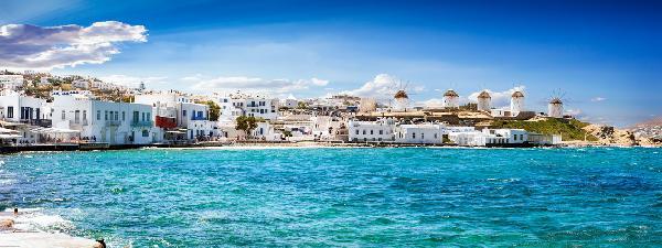 遇见最美希腊(圣托里尼+克里特岛+米克诺斯三岛游)