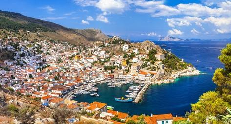 希腊一日三岛游
