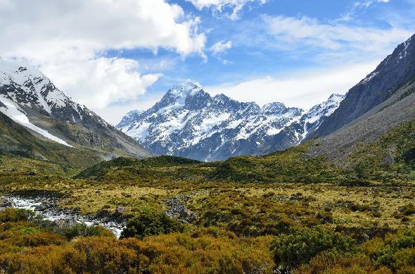 新西兰南岛经典西线冰川6日游