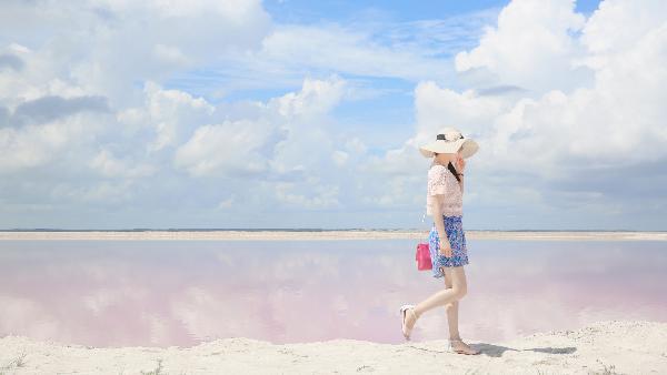 【绝美景色】尤卡坦半岛粉红湖一日游(坎昆出发,独家行程)