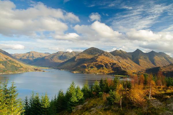苏格兰山湖美景经典4日游 (《花儿与少年》同款游)3线