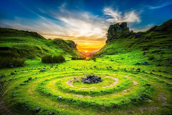 天空岛•哈利波特•苏格兰高地三日游(17座中巴)