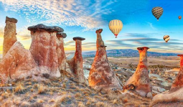 【精品】土耳其9日·五星酒店(全程含餐+景点首道+洞穴酒店+自费体验热气球)